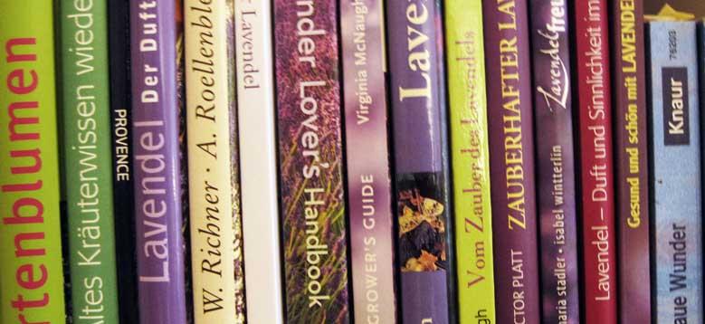 Bücher über Lavendel